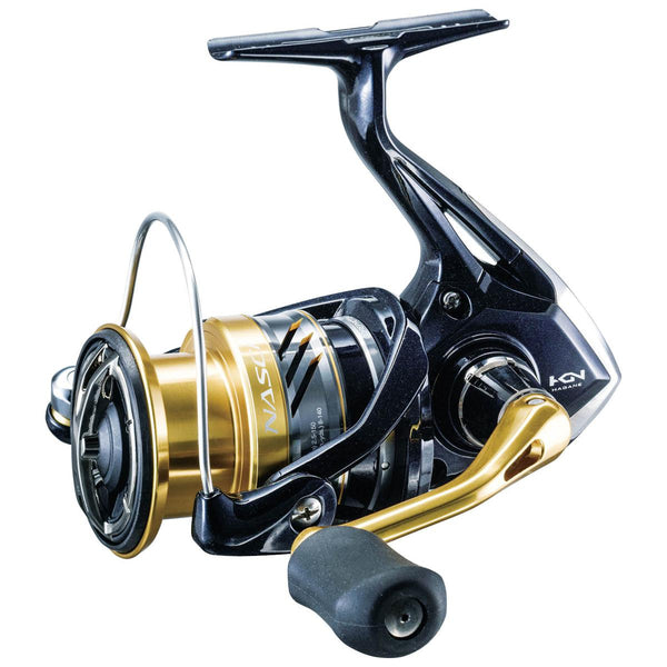 Shimano Nasci Spinning Reel; This is part of the Spinning collection offered from Fishin' My Best Life - fishinmybestlife.com