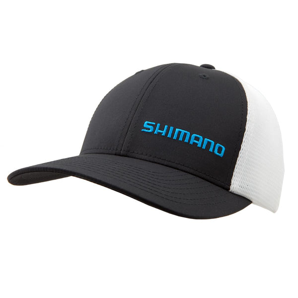 Shimano Perf Trucker Cap; This is part of the Men's collection offered from Fishin' My Best Life - fishinmybestlife.com