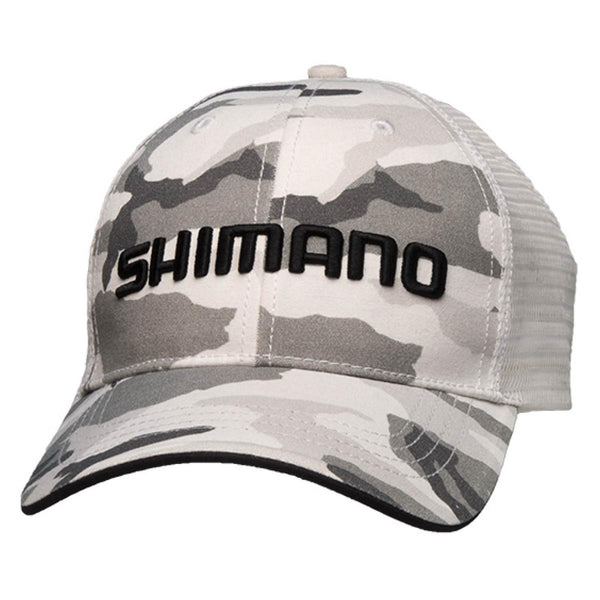 Shimano Smokey Trucker Cap; This is part of the Men's collection offered from Fishin' My Best Life - fishinmybestlife.com