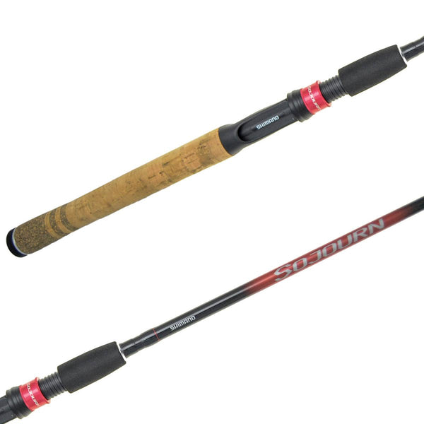 Shimano Sojourn Rods; This is part of the Baitcasting collection offered from Fishin' My Best Life - fishinmybestlife.com