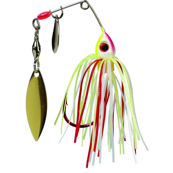 Strike King Bleeding Bait Mini-King; This is part of the Spinnerbaits collection offered from Fishin' My Best Life - fishinmybestlife.com