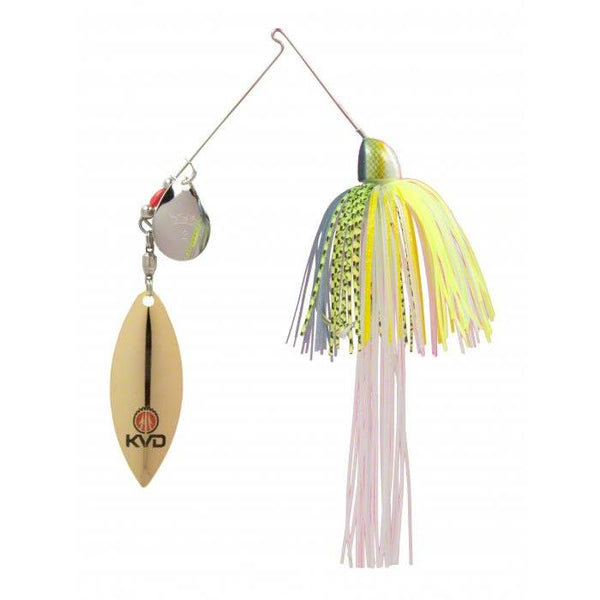 Strike King KVD Finesse Spinnerbait Colorado Willow; This is part of the Spinnerbaits collection offered from Fishin' My Best Life - fishinmybestlife.com