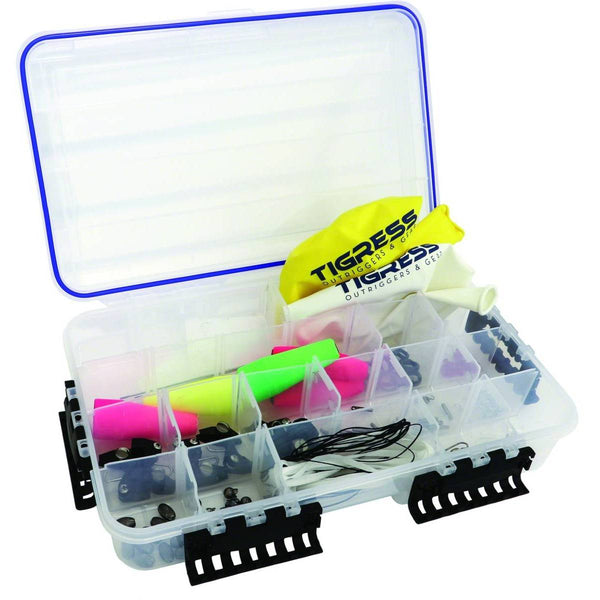 Tigress Kite Assembly Box; This is part of the Outriggers, Kites and Accessories collection offered from Fishin' My Best Life - fishinmybestlife.com