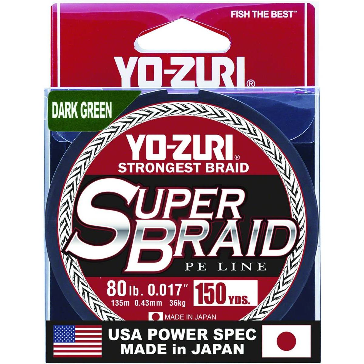 Yo-Zuri SuperBraid Line; This is part of the Braided collection offered from Fishin' My Best Life - fishinmybestlife.com