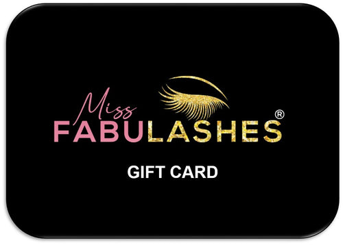 Gift Card for The Best Natural Lashes - Miss Fabulashes