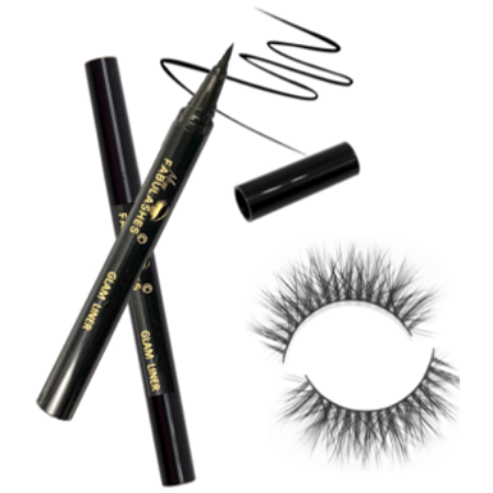 Best Eyeliner for False Lashes [Glam Liner]-Miss Fabulashes