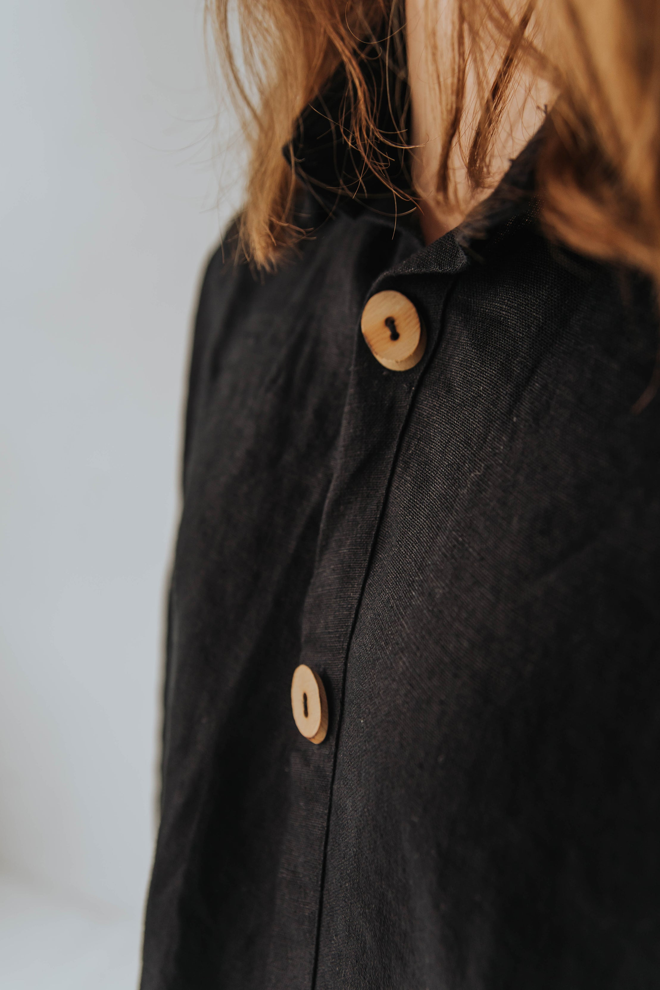 Asymmetrical Button-Up