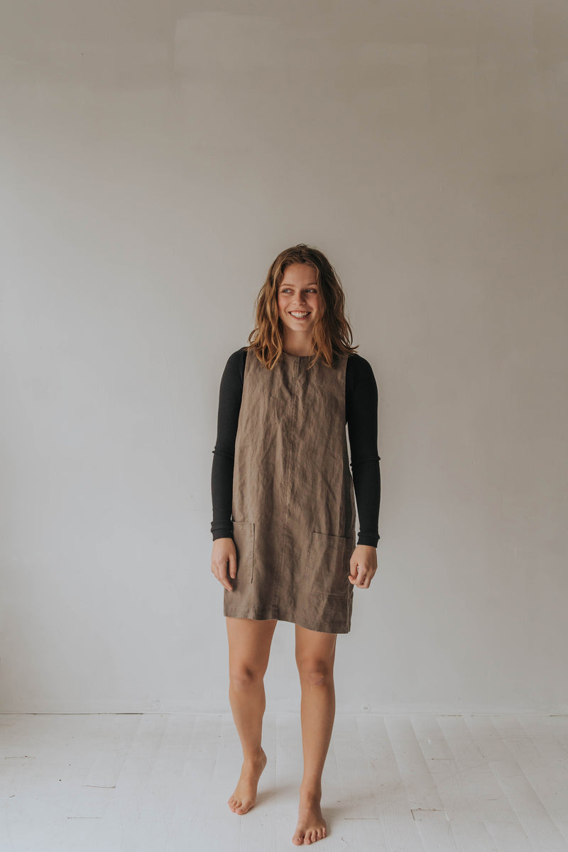 Apron Dress - cedarandvine