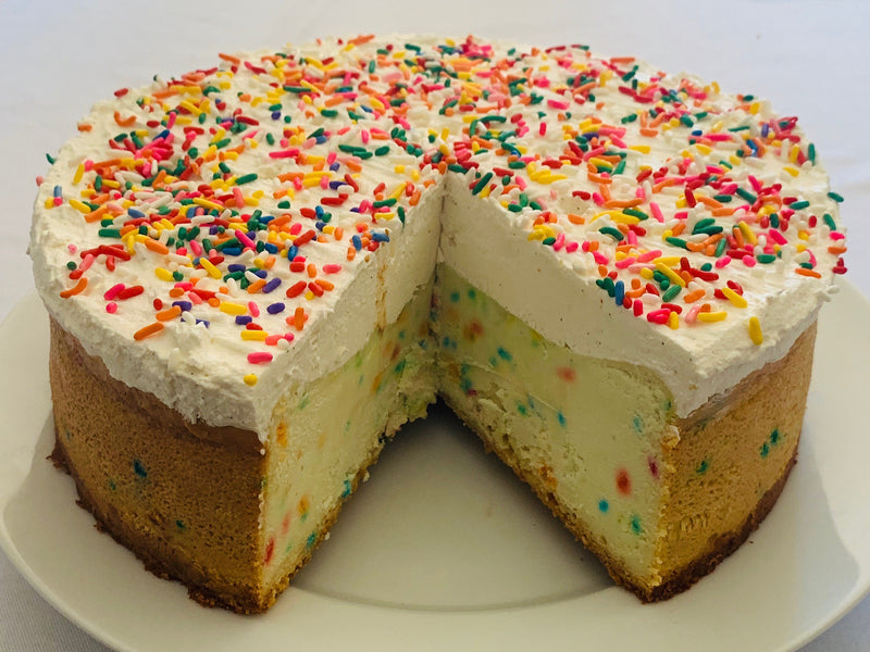 Birthday Cake Cheesecake
