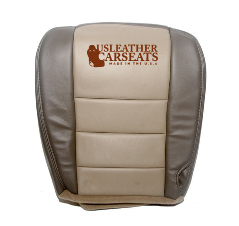 2000 Ford Excursion Passenger Side Bottom Replacement Leather Seat Cover TAN