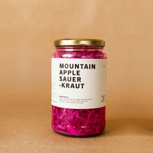 Mountain Apple Sauerkraut