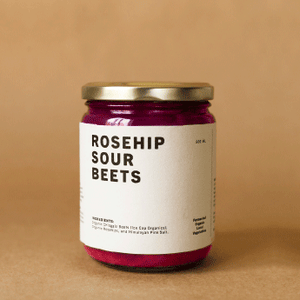 Rosehip Sour Beets