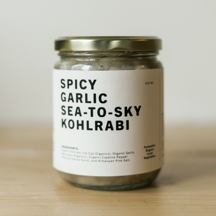Sea-to-Sky Garlic Kohlrabi