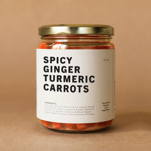 Spicy Ginger Turmeric Carrots