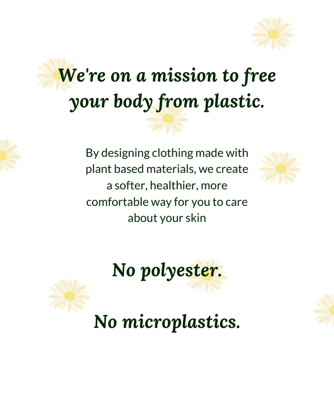 we're on a mission to make plastic free activewear