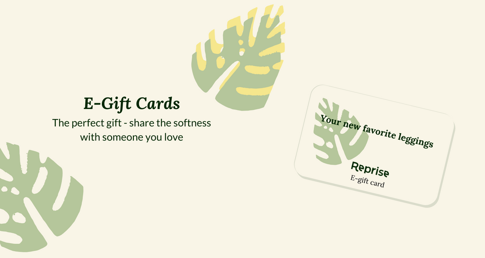 Sustainable gift cards are now available!