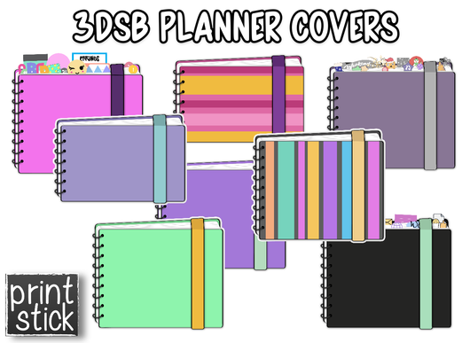 Covers for Planners - 3D - Print Stick