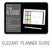 Load image into Gallery viewer, 𝘍𝘙𝘌𝘌 𝗗𝗶𝗴𝗶𝘁𝗮𝗹 𝗣𝗹𝗮𝗻𝗻𝗲𝗿 - Elegant Planner - Print Stick