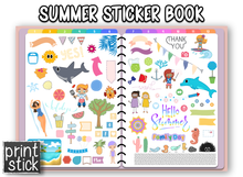 Load image into Gallery viewer, Bo - Sticker Book #2 - Print Stick