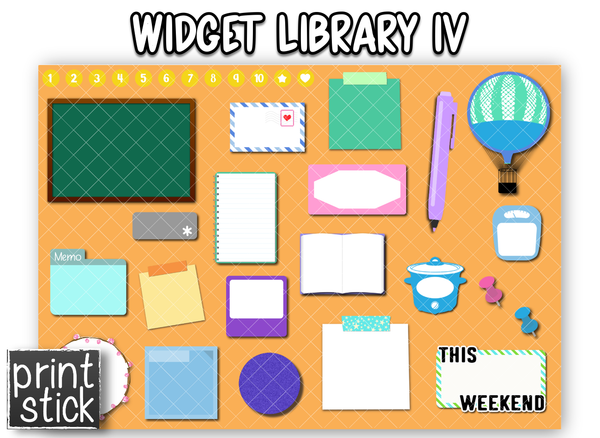 Widget Library IV - Print Stick