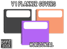 Load image into Gallery viewer, Covers for Planners - V1 - Print Stick