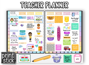 Teacher Planner - Print Stick