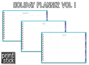 Holiday Planner Vol I - Print Stick
