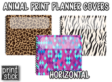 Load image into Gallery viewer, Covers for Planners - Animal Print - Print Stick