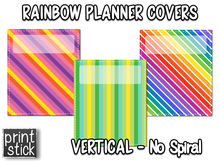 Load image into Gallery viewer, Covers for Planners - Rainbow - Print Stick