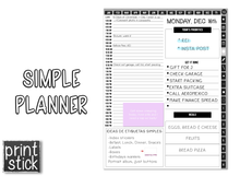 Load image into Gallery viewer, Simple Planner - Print Stick