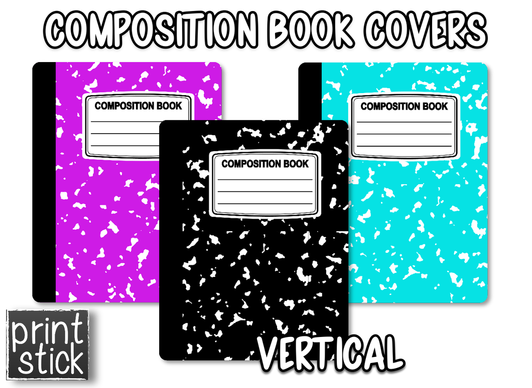 Covers for Planners - Composition - Print Stick