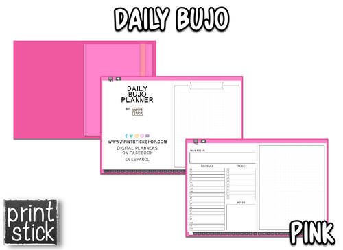 Daily BuJo Planner - Print Stick