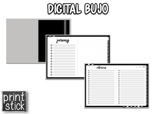 Digital BuJo Planner - Print Stick