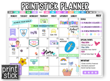 Load image into Gallery viewer, PrintStick Planner - Print Stick
