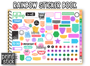 Bo4 - All Sticker Books - Print Stick