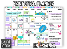 Load image into Gallery viewer, En Español: PrintStick Digital Planner - Print Stick