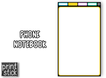Load image into Gallery viewer, Phone Notebook - Digital Notebook - Print Stick