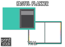 Load image into Gallery viewer, En español: Agenda Digital Pastel Planner - Print Stick