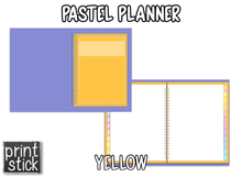 Load image into Gallery viewer, Pastel Planner - Print Stick