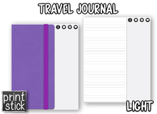 Load image into Gallery viewer, Travel Journal - Digital Notebook - Print Stick