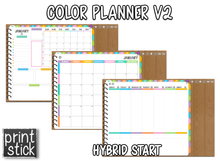 Load image into Gallery viewer, Color Planner V2 - Digital Planner
