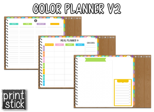Color Planner V2 - Digital Planner