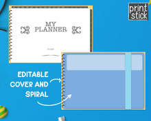Load image into Gallery viewer, Editable Digital Planner - for Keynote - Print Stick