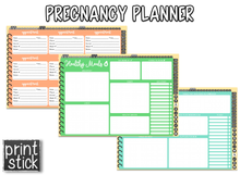 Load image into Gallery viewer, Pregnancy Planner - Undated Digital Planner - Print Stick