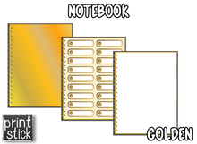 Load image into Gallery viewer, Digital Notebook - Golden - Print Stick