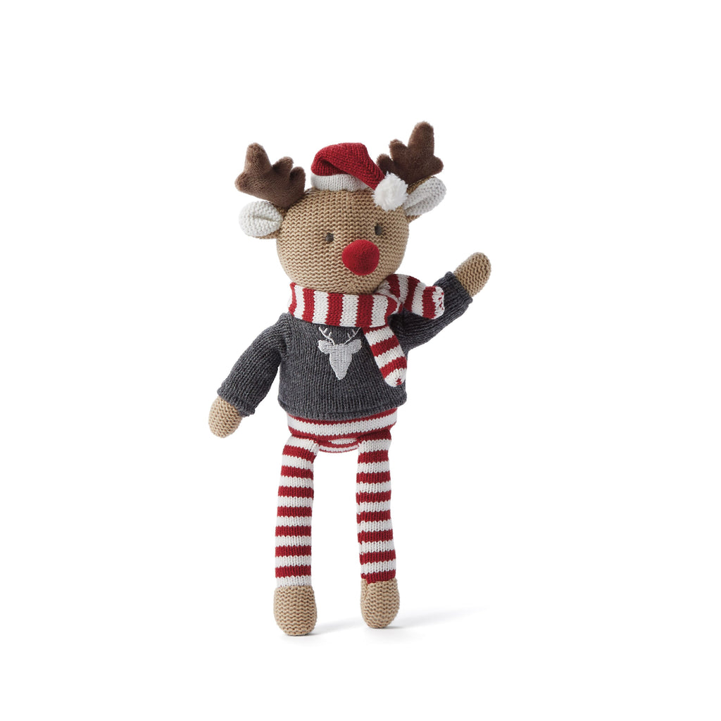 "10"" Baby Knit Doll - Reindeer"