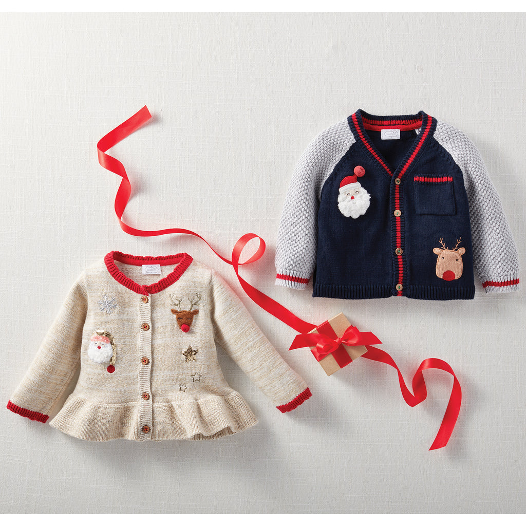 Girl Cardigan - Christmas