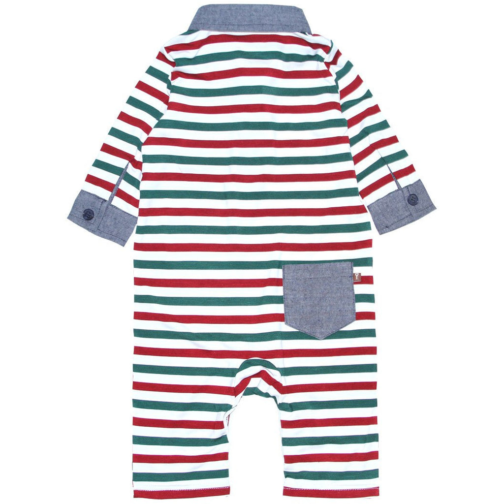 Romper - Multi-Stripe