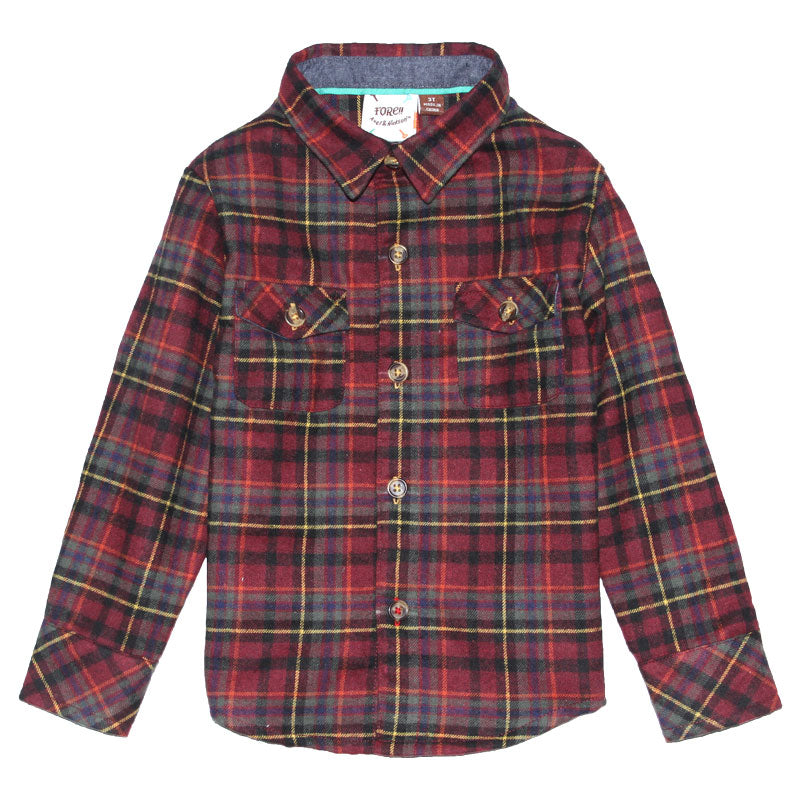 Shirt - Log Cabin Flannel