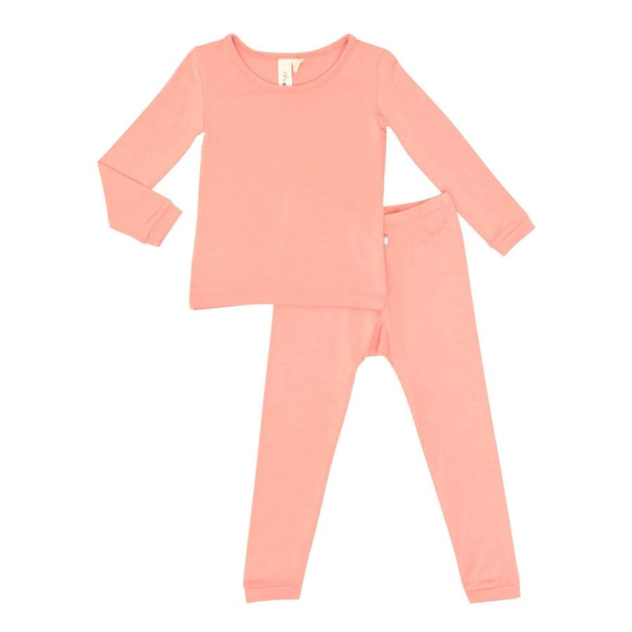 Toddler Pajama Set - Terracotta